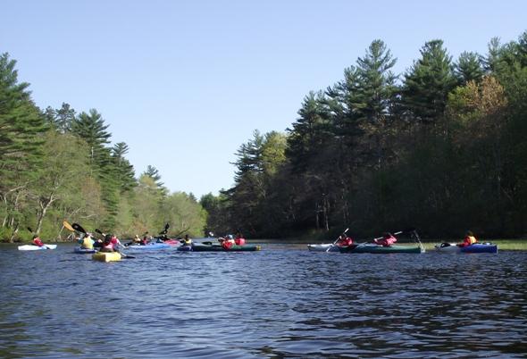 WPWA campus Wood River paddle